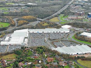 The Forge Retail Park in Telford