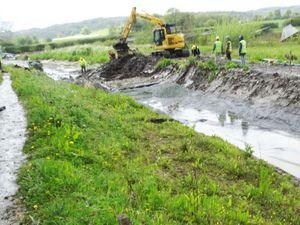 Montgomery Canal restoration work