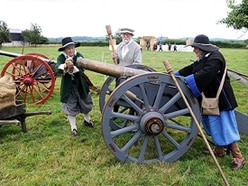 Civil war returns to Shropshire border