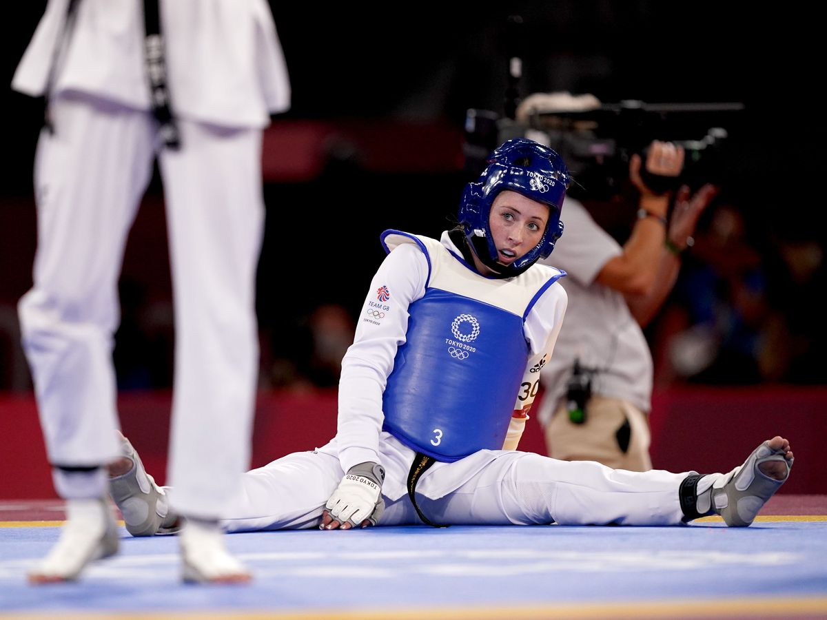 Jade Jones saw her bid to become the first British woman to win gold medals at three straight Olympics come to an abrupt end in Tokyo