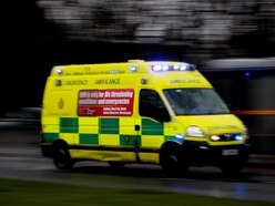 Two people taken to hospital after crash on A49 at Church Stretton
