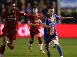 Shaun Whalley cannot wait for Shrewsbury Town's FA Cup replay at Liverpool