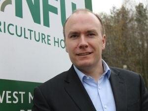 Shropshire Star farming column columnist Robert Newbery, NFU West Midlands regional director. Rob Newbery..