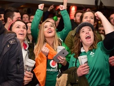 Ireland beat England to win Six Nations Grand Slam on St Patrick's Day