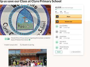 Clyro Go Fund Me Campaign - graphic