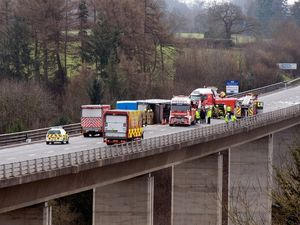 The accident on the Chirk bypass last June