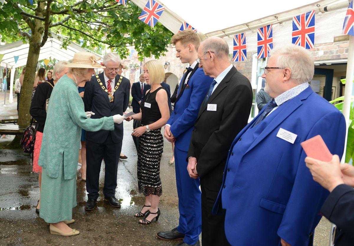Meeting some of the Pride of Telford winners