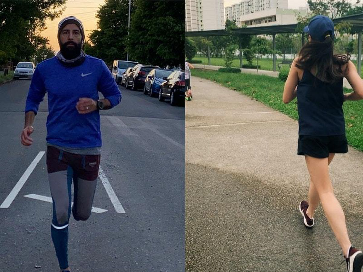 Fundraisers running to raise money for the bereaved families of Filipino health workers