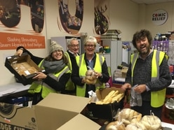 Tonnes of food from Shrewsbury supermarkets saved from going to waste over Christmas