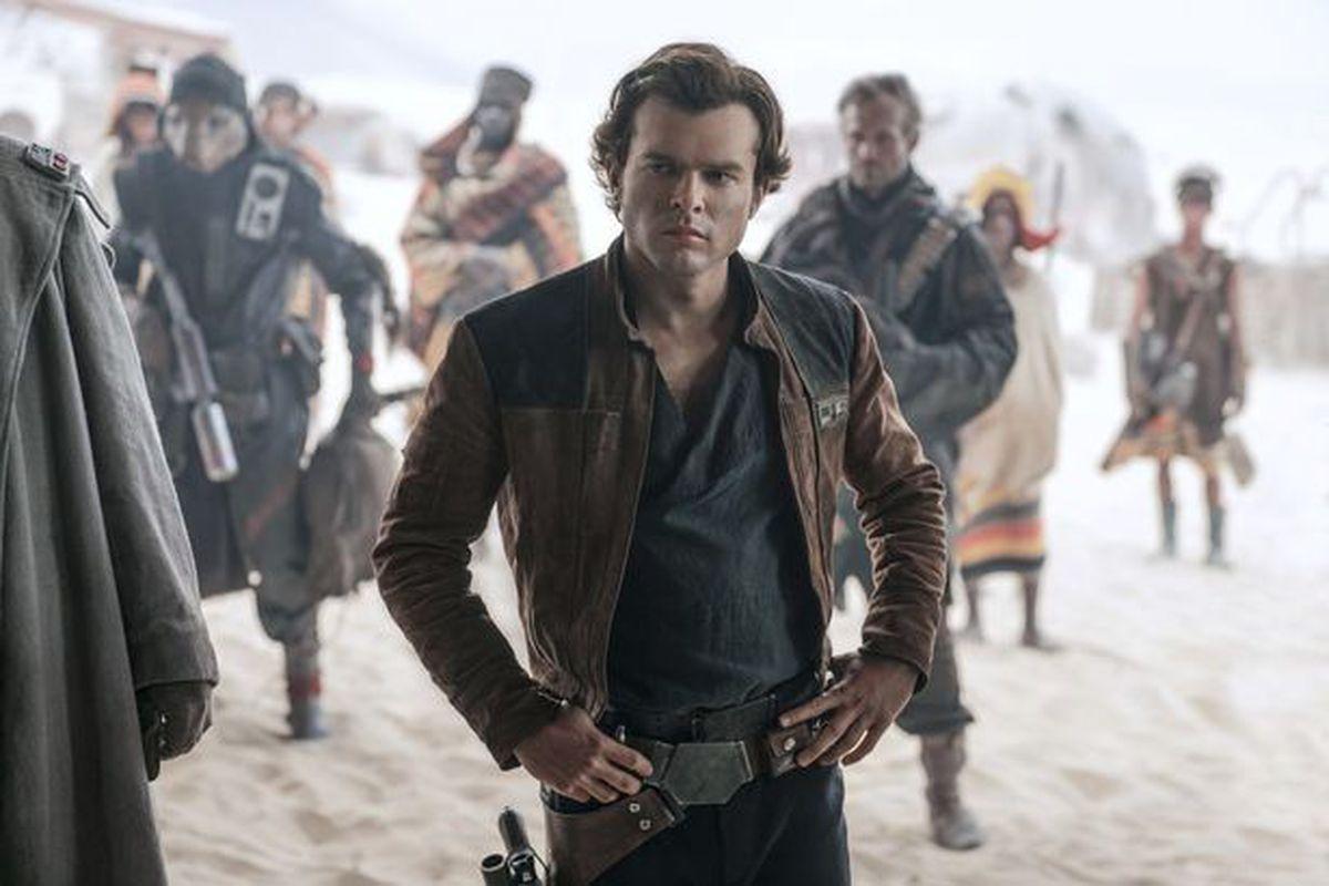 Alden Ehrenreich stars in A Star Wars Story (Image: Lucasfilm)