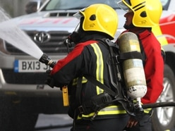 Emergency crews put out vehicle fire at Shropshire quarry