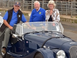 Classic cars raise £1.3k for charity in Bridgnorth Rotary Club event