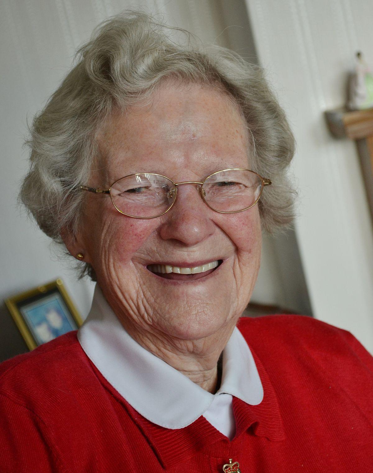 Wartime Land Girl, Barbara Jones of Baschurch