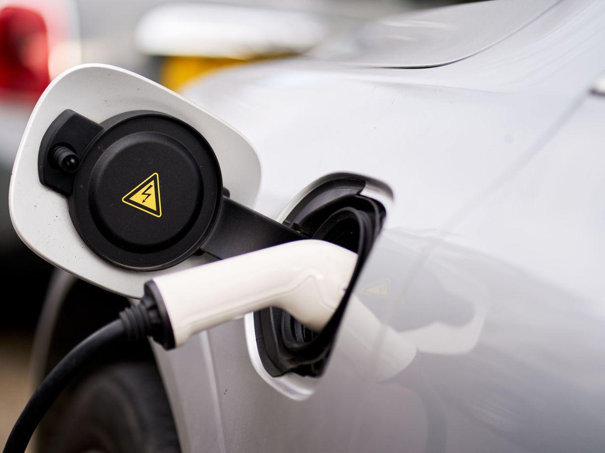 Electric car charging – London