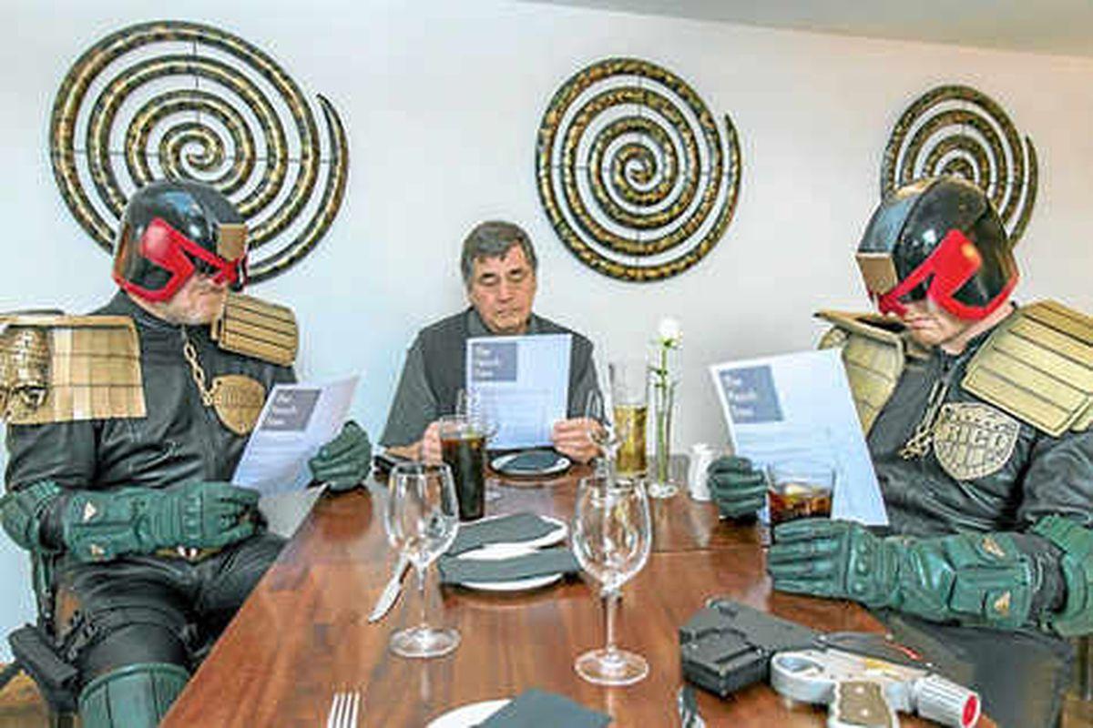 Shropshire restaurant name immortalised in Dredd 3D