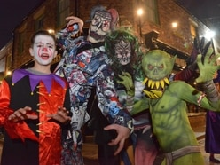Halloween fright night at Blists Hill - in pictures