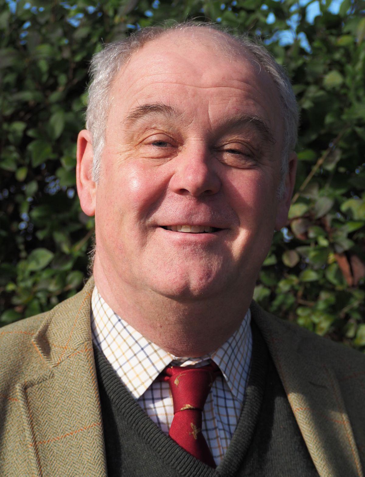 David Roberts, of G O Davies (Westbury) Ltd grain merchants
