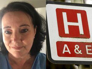 NHS receptionist Val Stimson