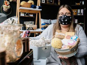 Tracy Rowlands has set up KT Soaps in Ellesmere which she hopes will prove to be a great success