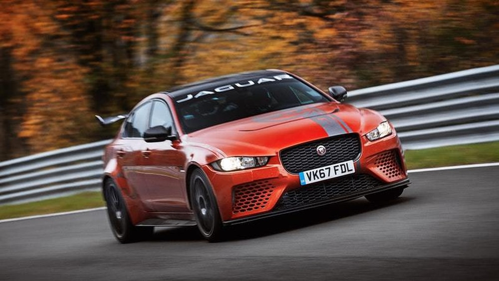 Jaguar XE SV Project 8 Sets A New Record At Nurburgring