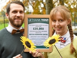 Oswestry business helps hospice raise £20,000