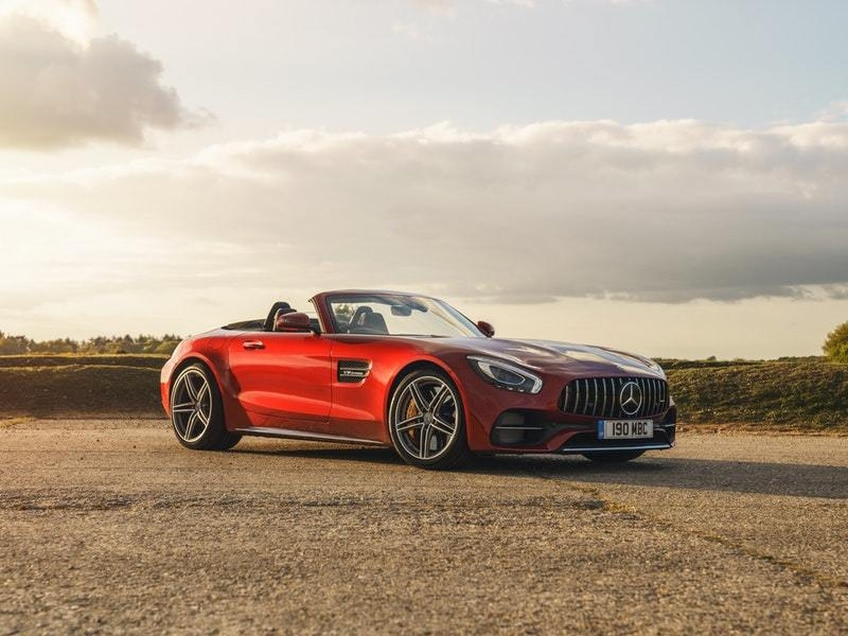 UK Drive: The Mercedes-AMG GT C Roadster brings drop-top thrills to the supercar experience