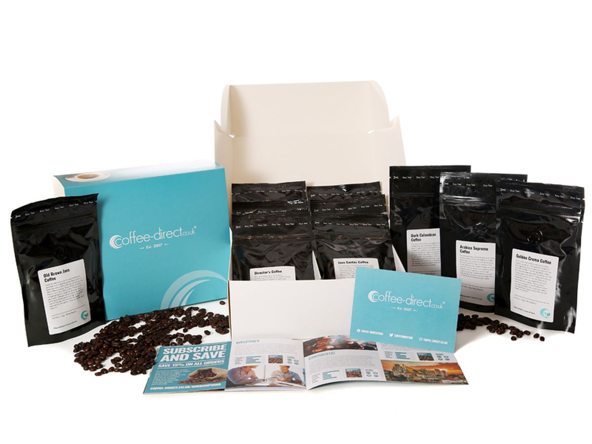 Coffee Direct 12 Coffee Gift Pack