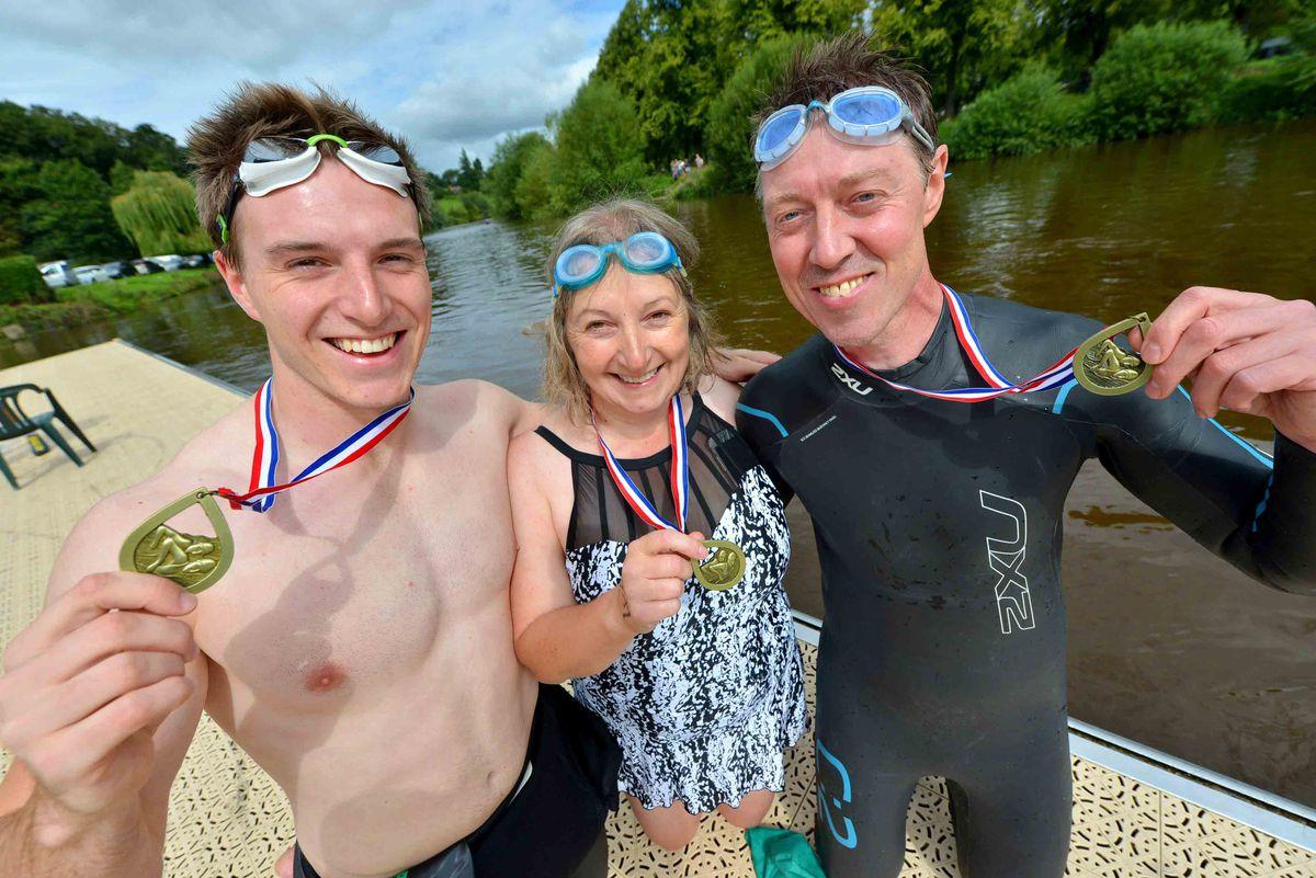 Howard Stringer 23, Karen Stringer 53 and Julian Stringer 53 all from Shrewsbury.