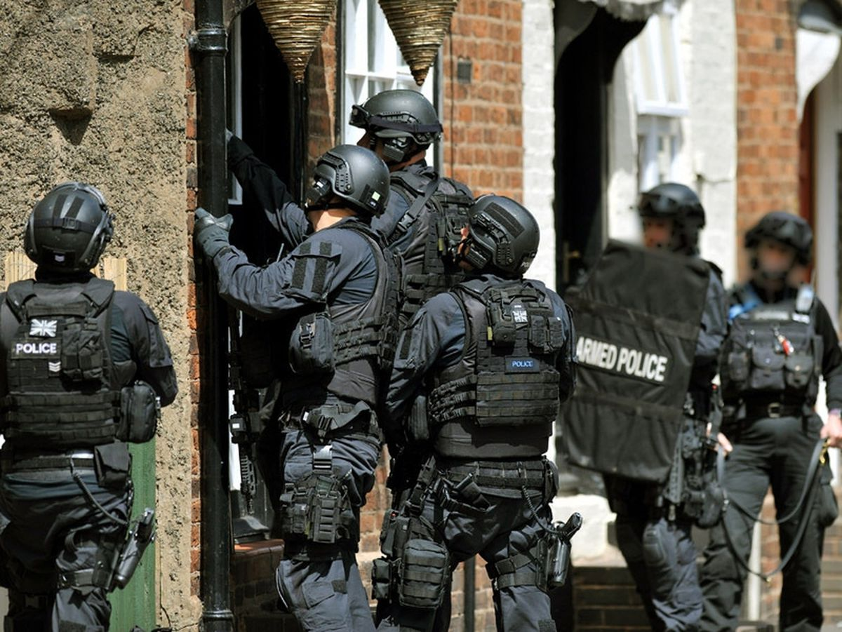 Manhunt in Bridgnorth: Car at focus of armed police search linked to earlier theft