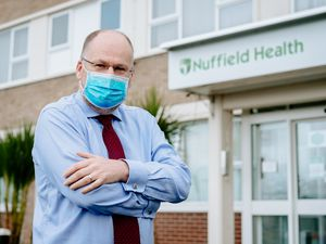 Hospital director David Wells