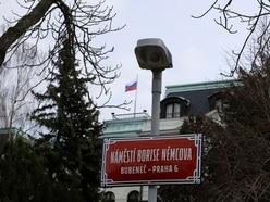 Prague square named after Russian opposition figure Boris Nemtsov