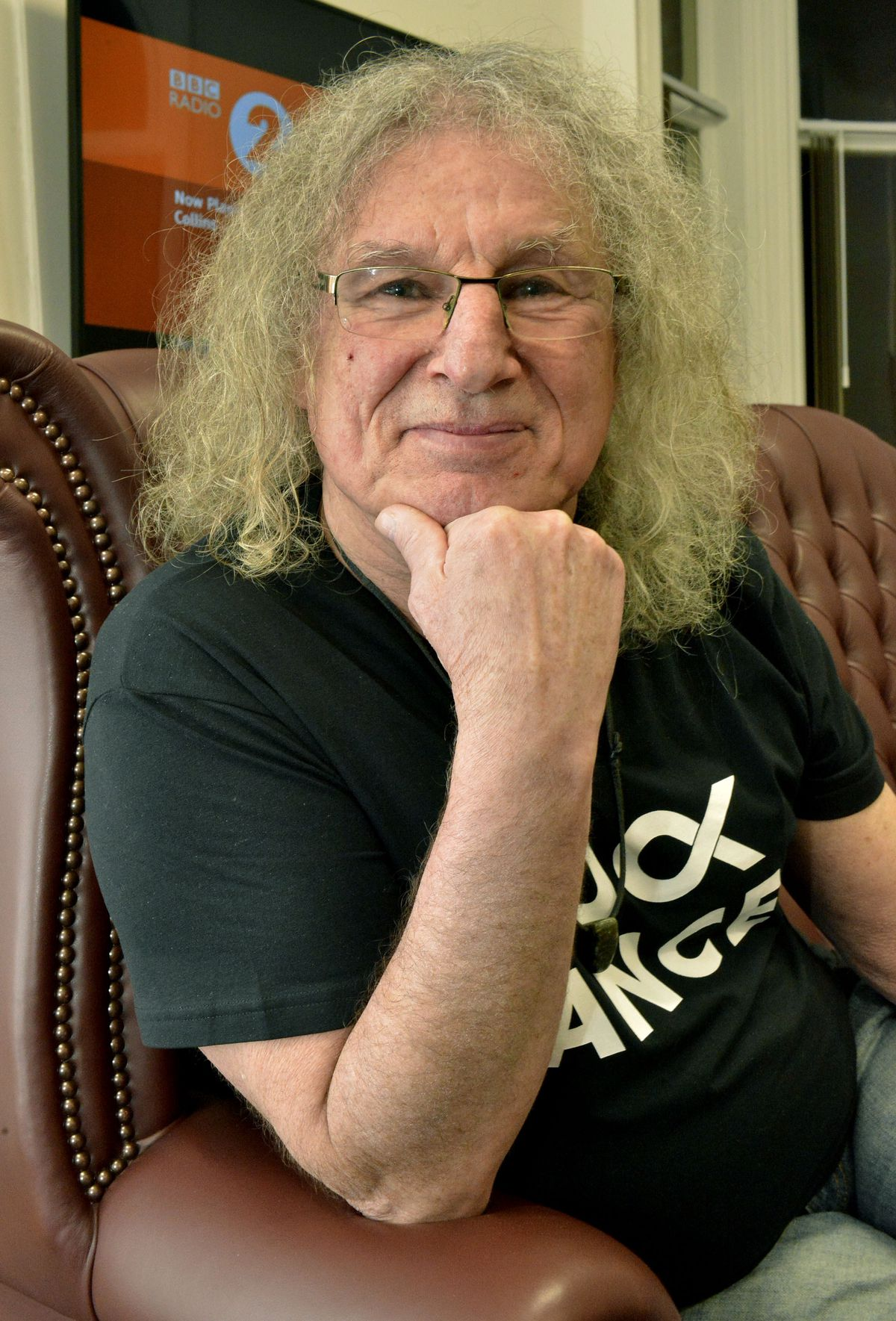 Don Powell at Wolverhampton Literary Festival