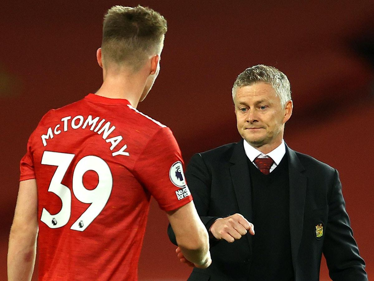 It was a tough day at the office for Manchester United boss Ole Gunnar Solskjaer