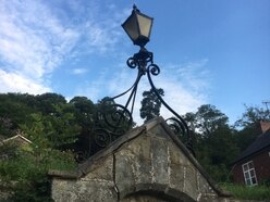 Row shines light on future of town's lamp