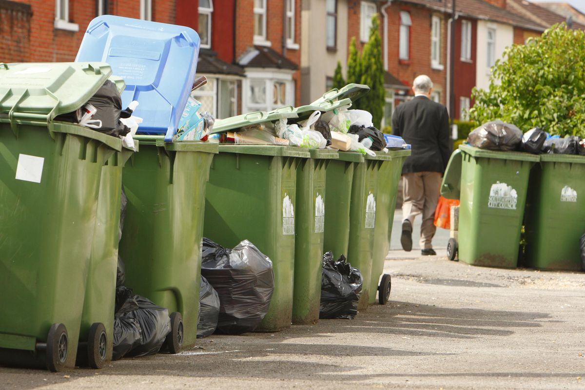 Bin collection dates will change over the Easter weekend