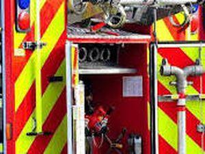 A fire engine