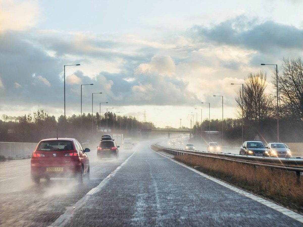 All-weather tyres can make the difference in wet conditions