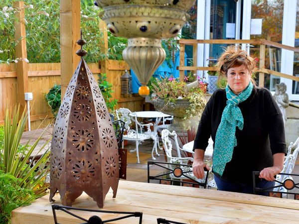Jackie invested Government funding from earlier this year in a new outdoor seating area