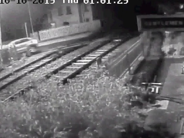 Banned: Driver causing £34,000 of disruption and damage crashing into Shropshire level crossing