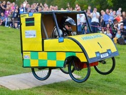Thrills as Much Wenlock holds first soap box derby - in video and pictures