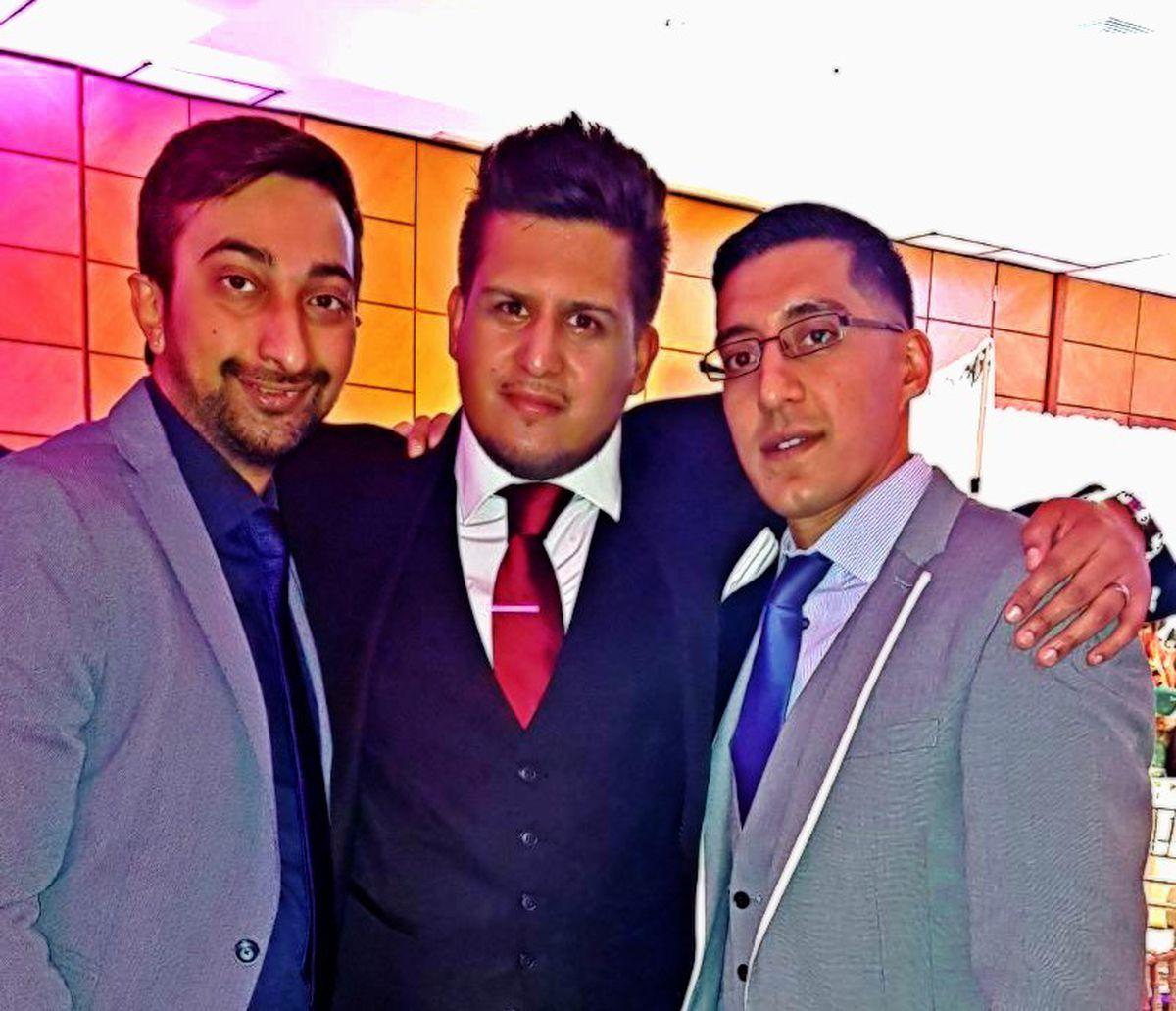 Amit Pala, Ghazi Chowdrey and Imtyaz Ali