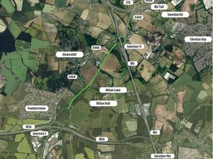 The road would link the M54 with the M6