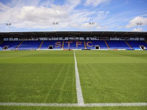A general view of the Montgomery Meadow home stadium of Shrewsbury Town (AMA)