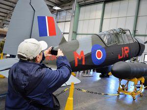 The Lysander at RAF Cosford