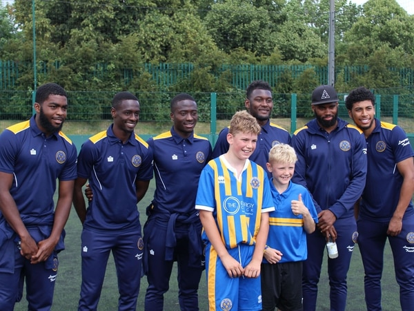 Dozens of fans meet the players at Shrewsbury Town event - with pictures