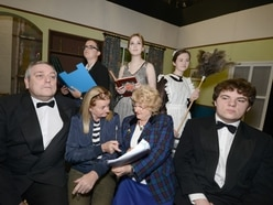 Frantic fun at Market Drayton amdram production