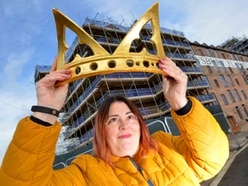 Restored coronet almost ready to return to top of Shrewsbury's Flaxmill