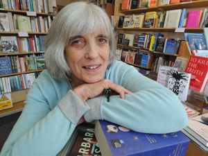 STAFFORD PIC DAVID HAMILTON PIC SHROPSHIRE STAR PIC 26/2/2019 Owner of Burway Books, Church Stretton, Rosalind Ephraim, of Church Stretton, a regional finalist in the Independent Bookshop of the Year awards..