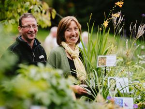 Jason Oldknow and Alison Farmsworth from Bridge Farm Plants based in Derbyshire