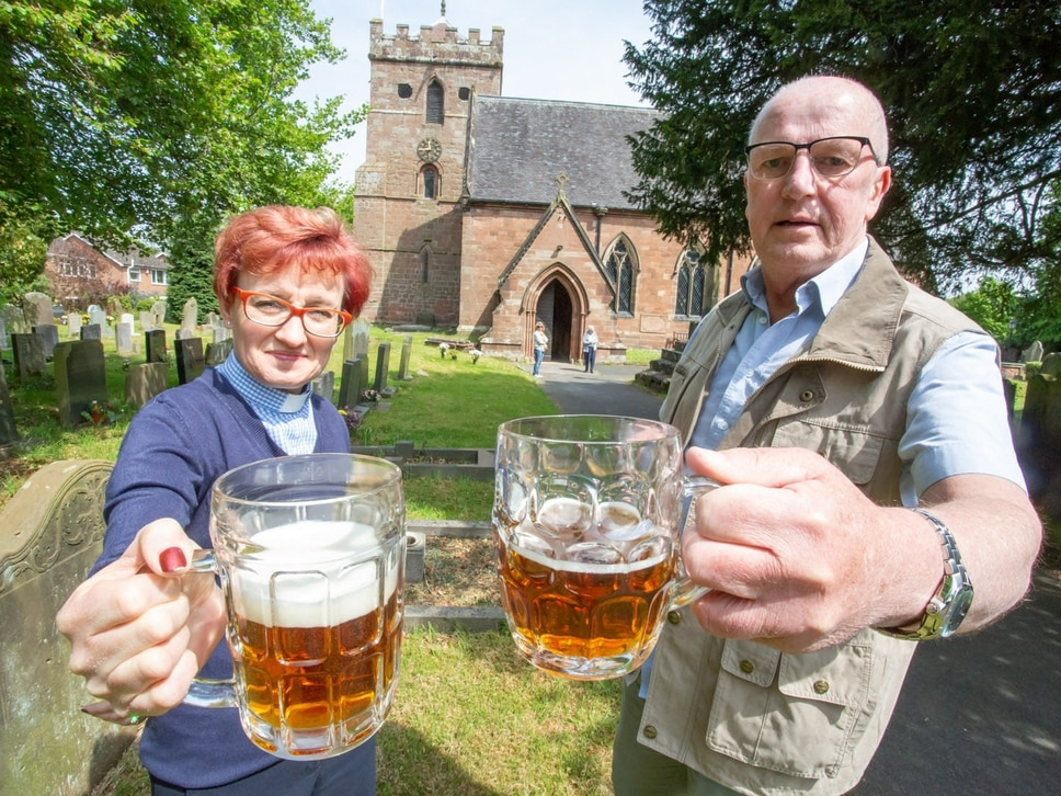 Heavenly ale to raise cash for Albrighton church